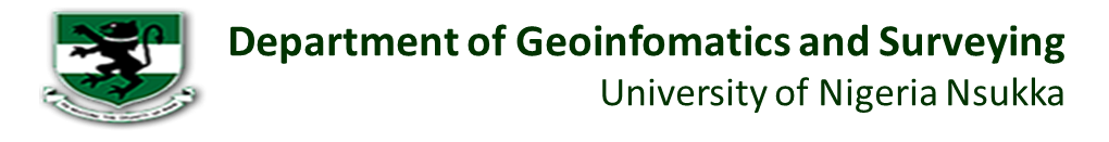 Dept of Geoinfomatics and Surveying